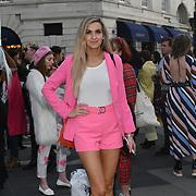 Fashionista attend Fashion Scout - SS19 - London Fashion Week - Day 3, London, UK