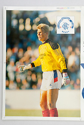 Chris Woods. Pictures and pages from the time at Rangers News 1989 to 1993..©Michael Schofield.