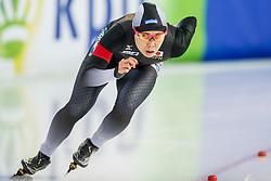 11-12-2016 NED: ISU World Cup Speed Skating, Heerenveen<br /> Maki Tsuji JAP op de 1000 meter