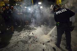 November 9, 2016 - Los Angeles, USA - Police (Credit Image: © Panoramic via ZUMA Press)