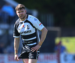 Pontypridd's Gary Williams<br /> Pontypridd RFC v Cardiff RFC<br /> <br /> Photographer Mike Jones / Replay Images<br /> Sardis Road, Pontypridd.<br /> Wales - 5th May 2018.<br /> <br /> Pontypridd RFC v Cardiff RFC<br /> Principality Premiership<br /> <br /> World Copyright © Replay Images . All rights reserved. info@replayimages.co.uk - http://replayimages.co.uk