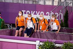 Boonzaaier Janneke, Heffernan Andres, Wagemakers Ad, Boonzaaier Ria<br /> Olympic Games Tokyo 2021<br /> © Hippo Foto - Dirk Caremans<br /> 21/07/2021