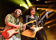 Joe Hottinger and Lzzy Hale for Halestorm 2019 Fall Tour October 13th, 2019 in Ontario, California at the Toyota Arena