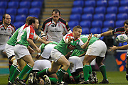 Reading, GREAT BRITAIN, Robbie RUSSELL, during the third round Heineken Cup game, London Irish vs Ulster Rugby, at the Madejski Stadium, Reading ENGLAND, Sat 09.12.2006. [Photo Peter Spurrier/Intersport Images]