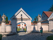 Kościół i były klasztor zakonu kamedułów, Wigry, Polska<br /> The church and the former monastery of the order of Camaldolese monks, Wigry, Poland