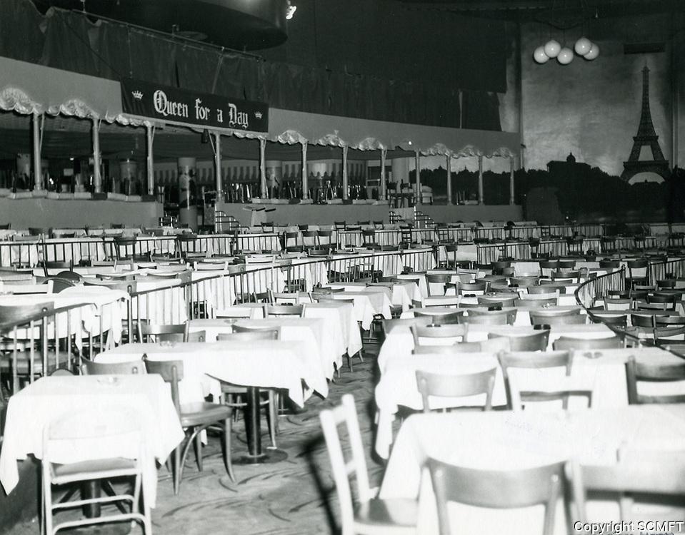 1963 Interior of Moulin Rouge Nightclub on Sunset Blvd.
