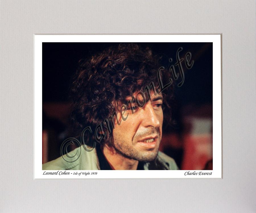 Leonard Cohen (close up)