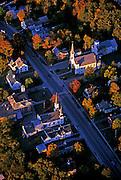 Aerial of Bradford, Vermont, American Northeast by Randy Wells