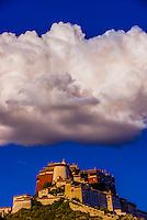 A massive cloud over the Potala Palace, Lhasa, Tibet (Xizang, China).