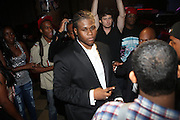 Josh X performs to a packed audience and WBLS Executives sponsored by MusaEntertainment and held at SOB's on August 27, 2009 in New York City