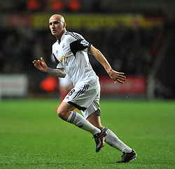 Swansea City's Jonjo Shelvey - Photo mandatory by-line: Alex James/JMP - Tel: Mobile: 07966 386802 28/01/2014 - SPORT - FOOTBALL - Liberty Stadium - Swansea - Swansea City v Fulham - Barclays Premier League