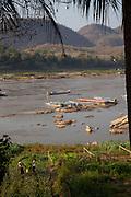 Mekong River, Luang Prabang, Laos.