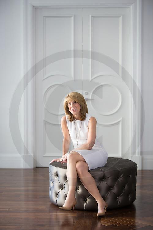 Dana Ades Landry, présidente de l'Association des femmes en Finances, (AFFQ) , Montréal, Québec