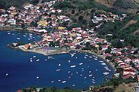 France - Département d'Outre mer de la Guadeloupe (DOM) - Les Saintes - Terre de Haut -  Anse du Bourg -