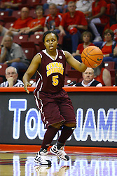 15 March 2012:  Jalisa Olive during a first round WNIT basketball game between the Central Michigan Chippewas and the Illinois Sate Redbirds at Redbird Arena in Normal IL