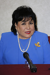 """BURBANK, CA - JUNE 1: Carmen Salinas attends Aventurera USA Press Conference at The Holiday Inn Burbank Media Center to promote the Mexican Theater Play """"Aventurera USA"""", in Burbank, California USA. 2017 June 2. Byline, credit, TV usage, web usage or linkback must read SILVEXPHOTO.COM. Failure to byline correctly will incur double the agreed fee. Tel: +1 714 504 6870."""