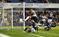 Football - 2018 / 2019 EFL Carabao Cup (League Cup) - Third Round: Millwall vs. Fulham<br /> <br /> Fulham's Joe Bryan scores the opening goal, at The Den.<br /> <br /> COLORSPORT/ASHLEY WESTERN