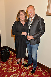 CAROLINE QUENTIN and GRAHAM NORTON at the West End Eurovision in aid of MAD - The Make A Difference Trust held at the Dominion Theatre, 268-269 Tottenham Court Road, London on 22nd May 2014
