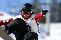 Snowboard, NM i halfpipe, Kongsberg Skisenter 24. mars 2001. Christel Thoresen.