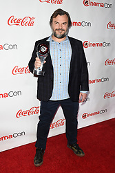 LAS VEGAS, NV - APRIL 26: Male Star of Yearr Award Winner Benicio Del Toro at the CinemaCon 2018 Big Screen Achievement Awards at The Colosseum at Caesars Palace in Las Vegas, Nevada on April 26, 2018. 26 Apr 2018 Pictured: Jack Black. Photo credit: DAM/MPI/Capital Pictures / MEGA TheMegaAgency.com +1 888 505 6342