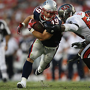 New England running back Danny Woodhead (39) runs the ball during an NFL football game between the New England Patriots and the Tampa Bay Buccaneers at Raymond James Stadium on Thursday, August 18, 2011 in Tampa, Florida.   (Photo/Alex Menendez)