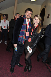 MARK STEWART and his daughter LEONA STEWART attend the premier of 2012 Cirque du Soleil's Totem at the Royal Albert Hall, London on 5th January 2012,