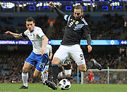 Friendly Argentina vs Italy<br /> March 23rd 2018<br /> Etihad Stadium<br /> Manchester, UK