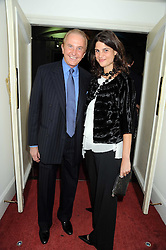 GEOFFREY KENT and KATRINA PAVLOS at a charity screening of 'Un Coer en Hiver' in aid of Filmaid International at The Electric Cinema, Portobello Road, London W11 on 7t h October 2008.