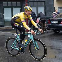 Jumbos Taco Van Der Hoorn før starten i Lyngdal av Tour of Norway sykkelritt etappe 2: Lyngdal - Kristiansand.