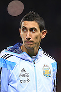 Angel Di Maria of Argentina - Argentina vs. Portugal - International Friendly - Old Trafford - Manchester - 18/11/2014 Pic Philip Oldham/Sportimage