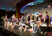 Bayswater, London,  General view, competing during the Snowdon Rowing Challenge, on Friday   05/03/2010  at the Porchester Hall London GREAT BRITAIN.  [Mandatory Credit. Peter Spurrier/Intersport Images]
