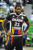 Andre Harris  - 23.03.2015 - Lyon Villeurbanne / Dijon - 25e journee Pro A<br /> Photo : Jean Paul Thomas / Icon Sport