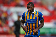 Shrewsbury Town forward Lenell John-Lewis (14) during the EFL Sky Bet League 1 match between Charlton Athletic and Shrewsbury Town at The Valley, London, England on 11 August 2018.