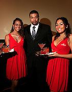 """De Ray Davis and The Ladies of Alize at The Ludacris Foundation 5th Annual Benefit Dinner & Casino Night sponsored by Alize, held at The Foundry at Puritan Mill in Atlanta, Ga on May 15, 2008.. Chris """"Ludacris"""" Bridges, William Engram and Chaka Zulu were the inspiration for the development of The Ludacris Foundation (TLF). The foundation is based on the principles Ludacris learned at an early age: self-esteem, spirituality, communication, education, leadership, goal setting, physical activity and community service. Officially established in December of 2001, The Ludacris Foundation was created to make a difference in the lives of youth. These men have illustrated their deep-rooted tradition of community service, which has broadened with their celebrity status. The Ludacris Foundation is committed to helping youth help themselves."""