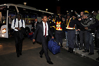 FOOTBALL - FIFA WORLD CUP 2010 - MISCS - GROUP A - TEAM'S PLAYERS FRANCE LEAVE SOUTH AFRICA AFTER THEIR WORLD CUP'S ELIMINATION - 22/06/2010 - PATRICE EVR<br /> PHOTO FRANCK FAUGERE / DPPI