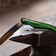 Knife maker Laforet couteliers, Arconsat