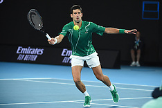 Australian Open quarter final - 28 Feb 2020