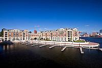 Exterior Image of the Ritz Carlton Condominiums at Baltimore Inner Harbor