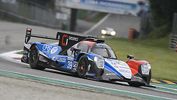 May 11, 2019 - Monza, MB, Italy - GRAFF racing team (Gommendy, Cougnaud and Hirshi) at Ascari chicane during Free Practice Session 2 of ELMS italian round in Monza. (Credit Image: © Riccardo Righetti/ZUMA Wire)