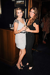 Left to right, JESSICA HOWARD-JOHNSTON and ROSEANAGH BRUCE at the Tatler Little Black Book Party held at Tramp, 40 Jermyn Street, London on 3rd November 2010.