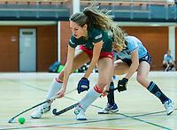 ALMERE - hoofdklasse competitie zaalhockey . Laren-MOP. Rosalie de Beer van MOP.   COPYRIGHT KOEN SUYK