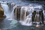 LOWER LEWIS RIVER FALLS, SKAMANIA COUNTY, WASHINGTON