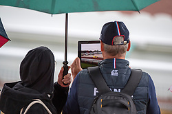 Spectators Team FRA - Team Competition Grade III Para Dressage - Alltech FEI World Equestrian Games™ 2014 - Normandy, France.<br /> © Hippo Foto Team - Jon Stroud <br /> 25/06/14
