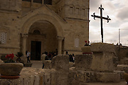 Israel, Galilee, Jezreel Valley, mount Tabor, Roman Catholic church of the Transfiguration