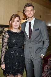 TANYA BURR and JIM CHAPMAN at the WGSN Global Fashion Awards 2015 held at The Park Lane Hotel, Piccadilly, London on 14th May 2015.