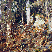 John Singer Sargent (January 12, 1856 – April 14, 1925) was an American painter The Hermit  1908