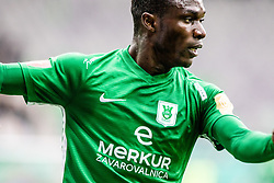 Boakye Eric of NK Olimpija Ljubljana during football match between NK Olimpija Ljubljana and NK Rudar Velenje in 25rd Round of Prva liga Telekom Slovenije 2018/19, on April 7th, 2019 in Stadium Stozice, Slovenia Photo by Matic Ritonja / Sportida