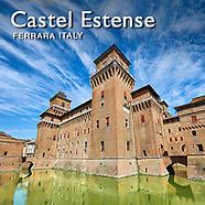 Pictures of Castello Estense Ferrara Italy -