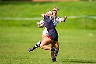 Burry Port, Wales, UK. 22 September 2019.<br /> <br /> Burry Port Ladies play Swansea in a rugby match<br /> <br /> Credit: Gruffydd Ll. Thomas