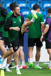 09.06.2012, Stadion Miejski, Poznan, POL, UEFA EURO 2012, Tschechische Republik, Training, im Bild ROBBIE KEANE during the during EURO 2012 Trainingssession of Ireland Nationalteam, at the stadium Miejski, Poznan, Poland on 2012/06/09